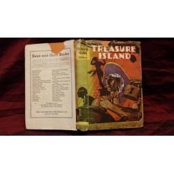 "Libro ""Treasure island "" 1930c."